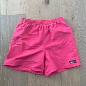Hot pink XS Patagonia swim trunks baggie 5inch
